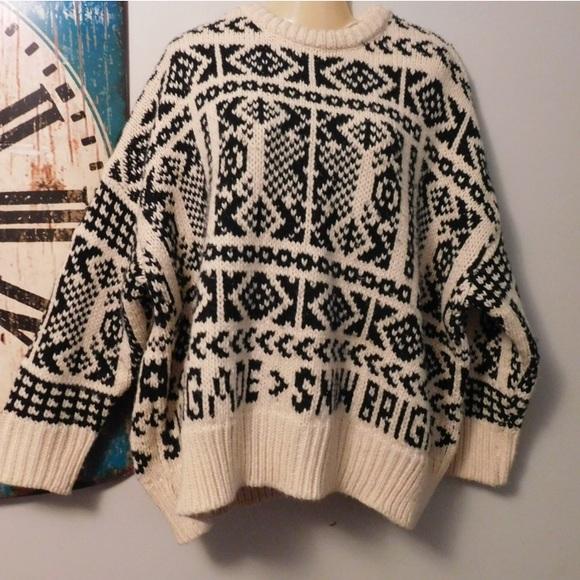 e8728701 Zara Sweaters | Looking To Buy Tribal Snow Brigade Sweater S | Poshmark